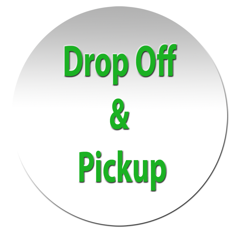 Drop off and pickup at your lake.